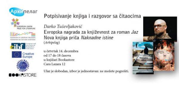 Darko Tusevljakovic Potpisivanje u Bookastore EUPL Book Evenet